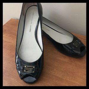 Marc Jacobs Black Patent Leather Shoes